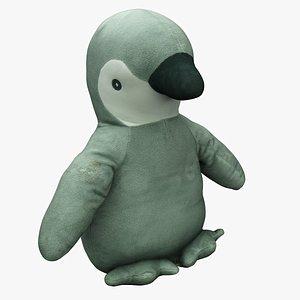 3D Plush Animal 25 Penguin