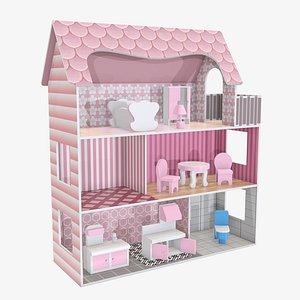 3D model doll house furniture