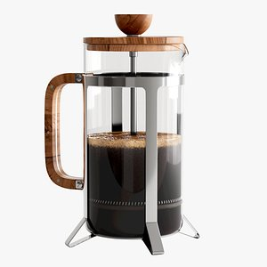 Hario French Press 3D model
