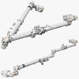 canadarm2 iss remote manipulator 3D model