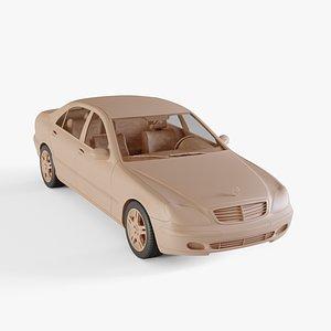 2003 Mercedes-Benz S-class 3D model