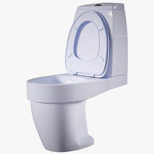 3D toilet wc model
