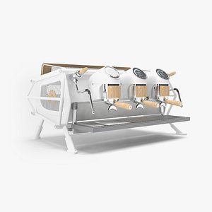 sanremo coffee machine cafe 3D model