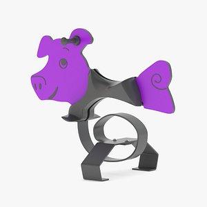 3D Lappset Pig model