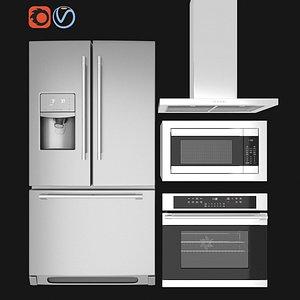 ikea kitchen appliance 3D