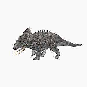 3D Styracosaurus model