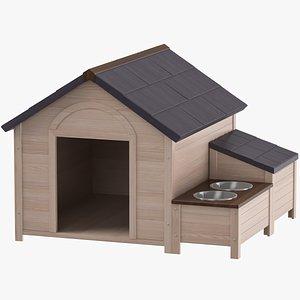 Dog House 01 3D