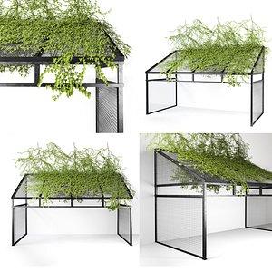 metal canopy 3D model