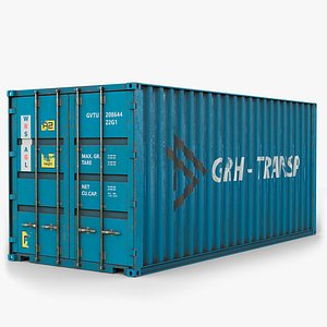 gameready lods container 3D