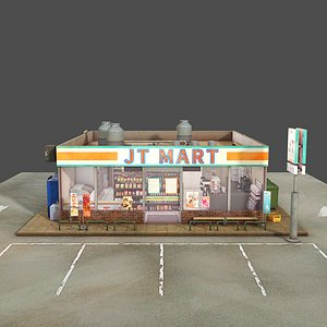 3D Convenience Store model