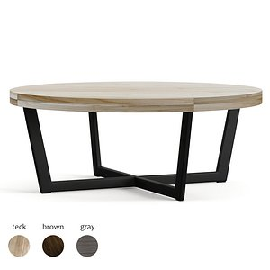 toba coffee table 3D model