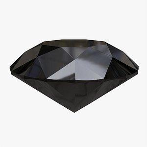 Black diamond 3D model