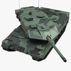 german battle tank 3D model