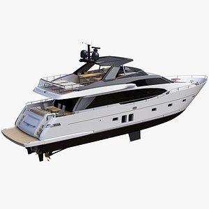 Sanlorenzo SL78 Planing Yacht model
