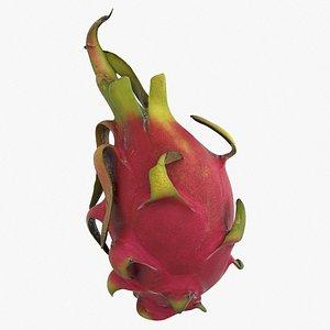 3D dragon fruit model