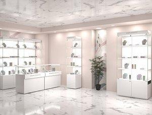 3D shop lights