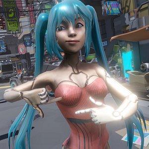 Cyborg Dora 3D