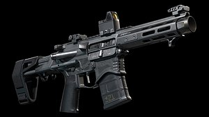 3D pistol saint springfield