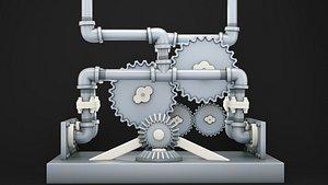 3D gear industrial tool