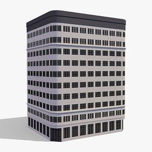 Commercial Building 004 3D