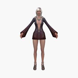 3D queen fantasy