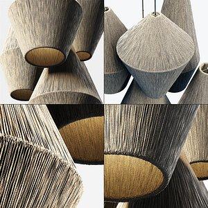 lamp rattan model