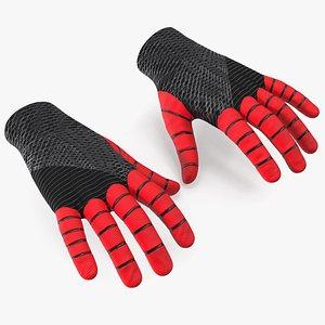3D Spider Man Gloves
