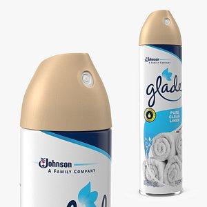 Glade Air Freshener Aerosol Spray Clean Linen model
