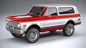 Chevrolet K5 Cheyenne Ranger 1972 3D model