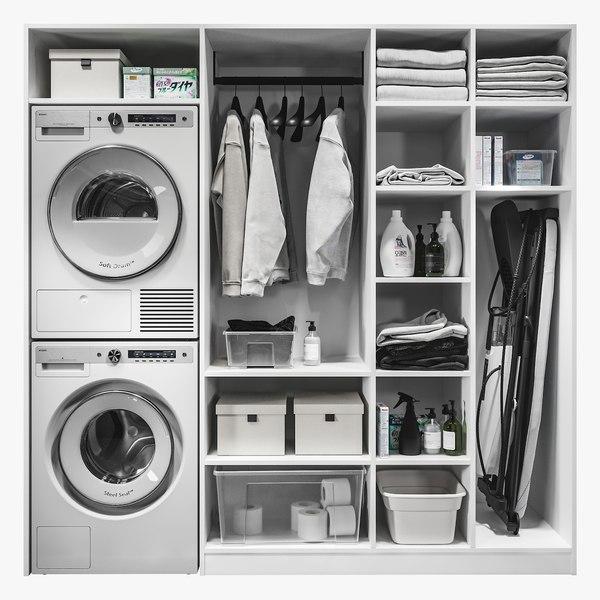 Laundry Room 0004 3D model