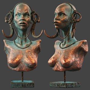 Mursi Woman model