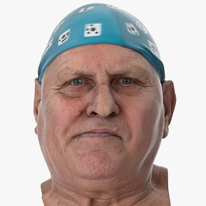 3D Homer Human Head Jaw Sideways Left AU30 Clean  Scan