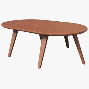 Ipe Dining Table 3D model