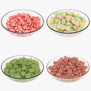candybowls candy 3D model