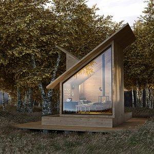 house cabin model