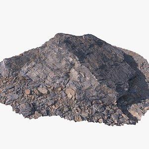 ground rock 3 3D model