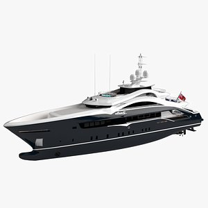 AnnG Luxury Yacht Dynamic  Simulation model