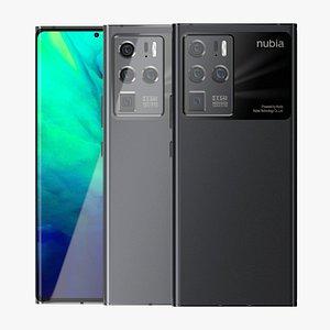 3D Nubia Z30 Pro All Colors model