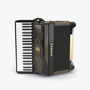 accordion 3D