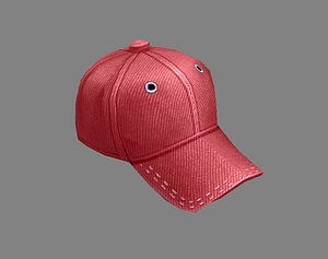 Cartoon red hat - Baseball cap - Sports cap model