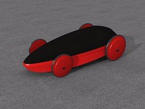 Hill Valley 2015 – Ferrari 3D model