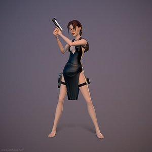 Lara Rig 3D model