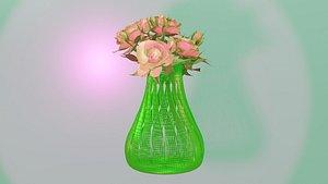 flower-vase home-decoraion 3D model