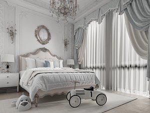 Modern Style Bedroom - 517 model