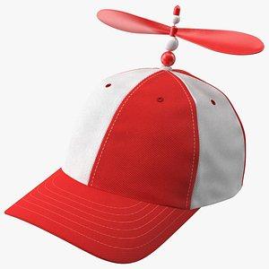 Propeller Cap Red 3D model