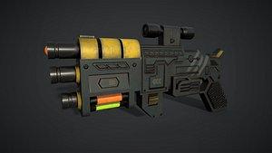 Sci Fi Ray Gun 3D model