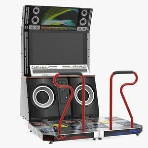 Dance Arcade Machine 3D