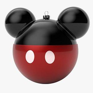 3D christmas ball mickey mouse