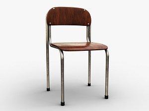 Single School Chair model