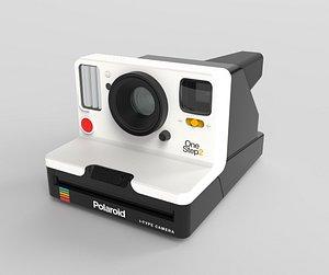 3D model polaroid